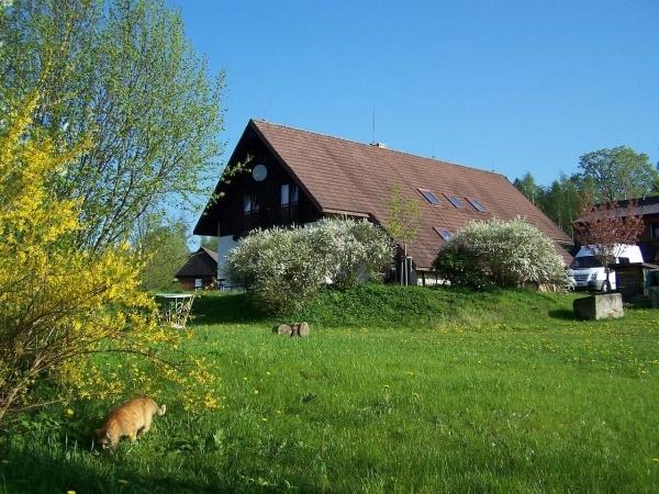 Farma v Hraničné v Jizerských horách
