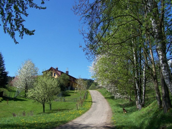 Agroturistika - venkovská turistika - Farma u Janova nad Nisou - pohled zvenku